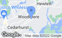 Map of Woodmere, NY