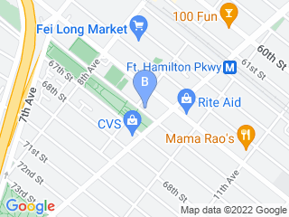 Map of Chasing Tails Dog Boarding options in Brooklyn | Boarding