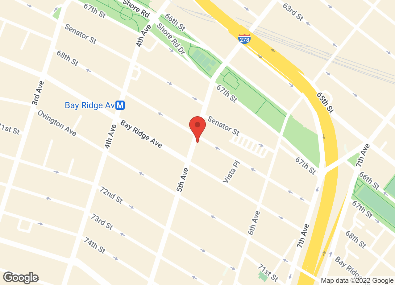 Google Map of Bay Ridge Animal Hospital