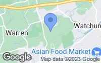 Map of Warren, NJ