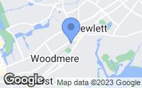 Map of Hewlett, NY