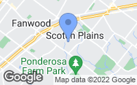 Map of Scotch Plains, NJ