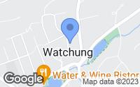 Map of Watchung, NJ