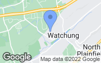 Map of Watchung, NJ