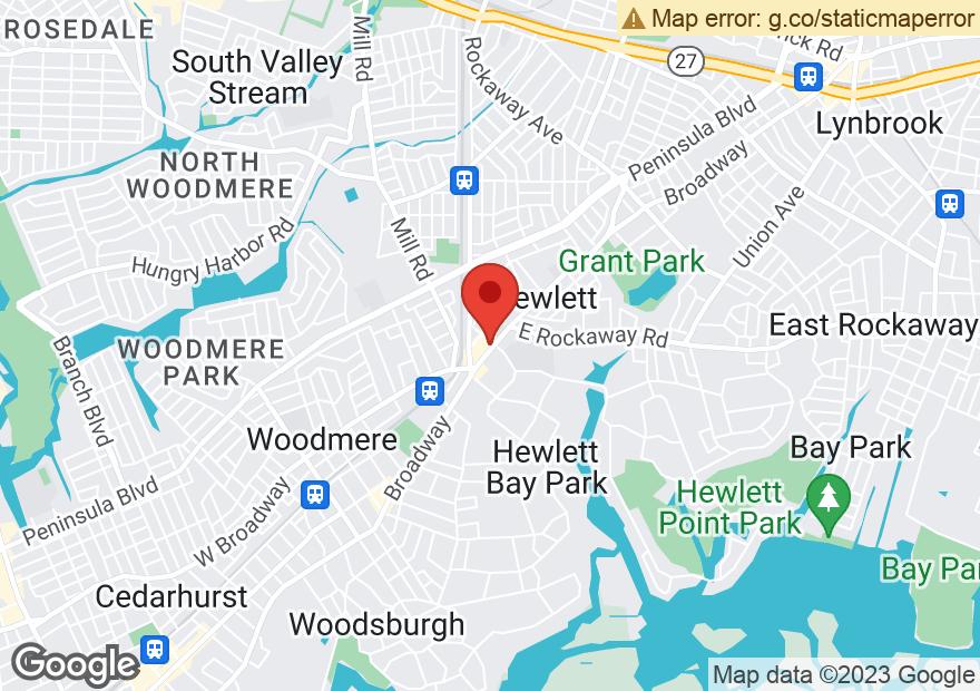 Google Map of 1338 BROADWAY #1340