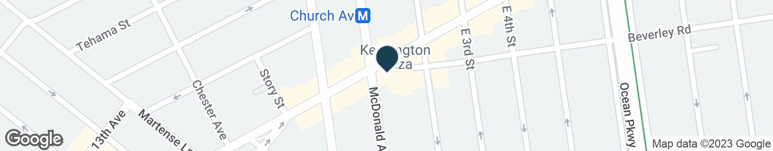 Google Map of114 BEVERLEY RD