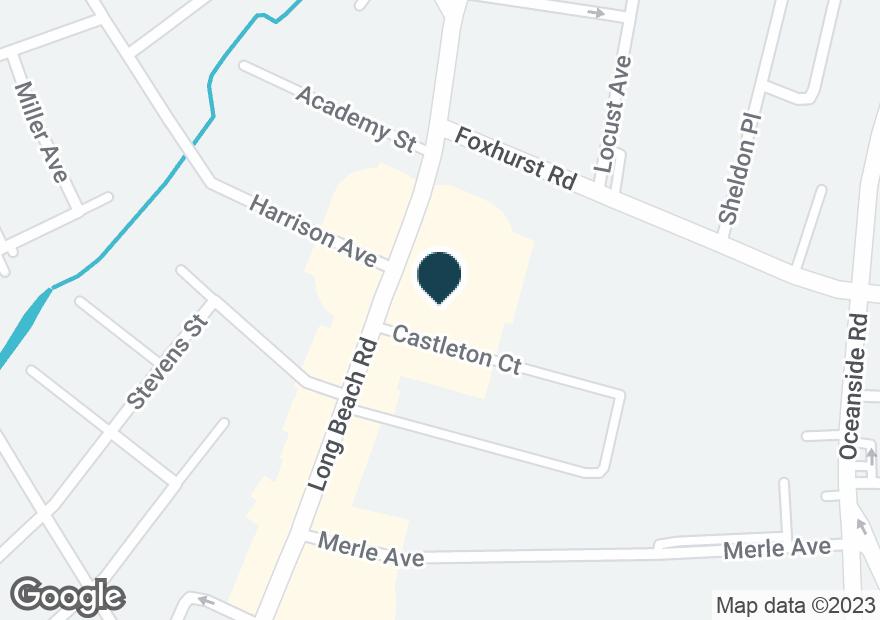 Google Map of2745 LONG BEACH RD
