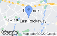 Map of East Rockaway, NY