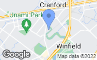 Map of Cranford, NJ