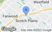 Map of Scotch Plains, NJ