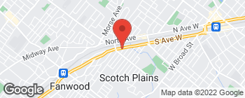Map of 2284 South Ave in Scotch Plains