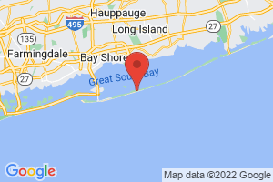 Map of Fire Island