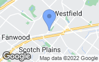 Map of Westfield, NJ