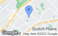 Map of Fanwood, NJ