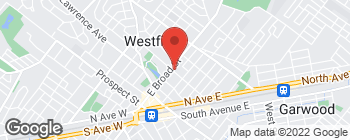 Map of 502 E Broad St in Westfield