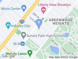 Map of Whiskers and Paws Pet Care Dog Boarding options in Brooklyn | Boarding