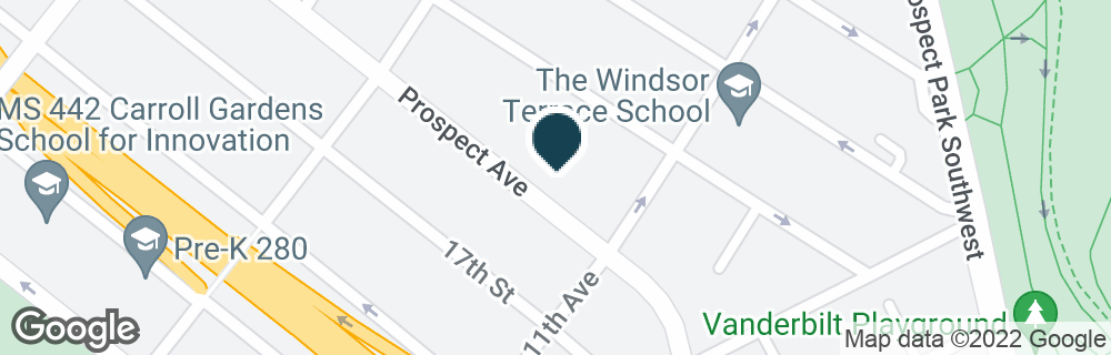 Google Map of589 PROSPECT AVE