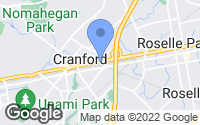 Map of Cranford, NJ