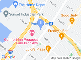 Map of ProspectBArk! Dog Boarding options in Brooklyn | Boarding
