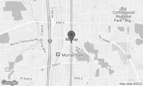 Map of 6191 South State in Murray