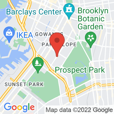 Map showing Café Grumpy — Park Slope