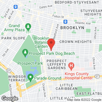 Map of Rite Aid at 1679 Bedford Avenue, Brooklyn, NY 11225