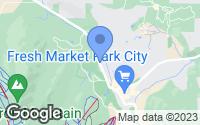 Map of Park City, UT