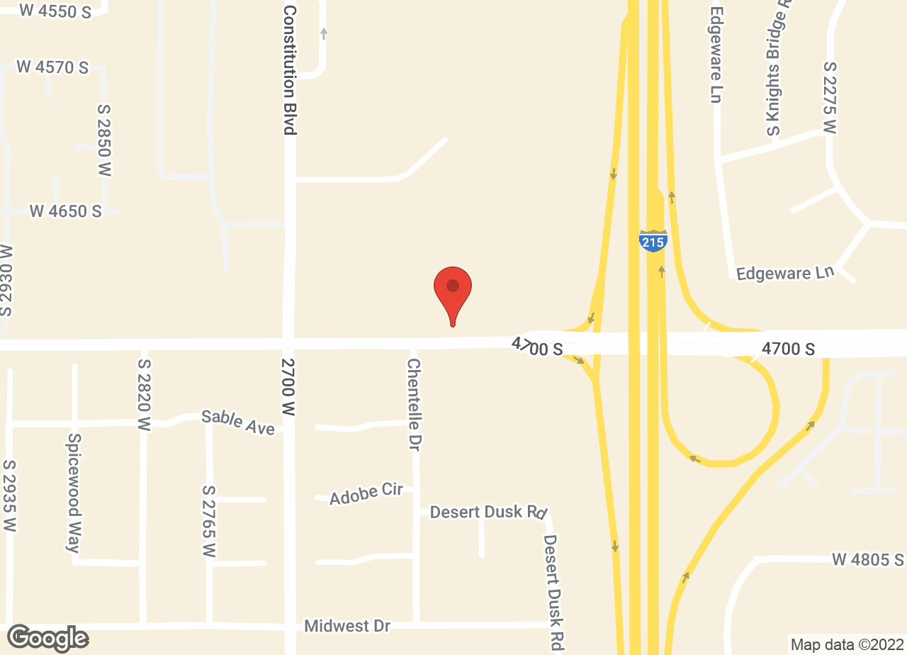 Google Map of VCA All Pet Animal Hospital/Taylorsville