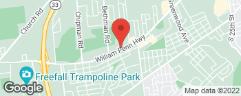 Map of 4200 William Penn Hwy in Easton