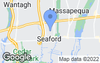 Map of Seaford, NY