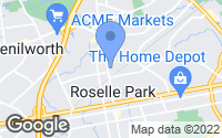 Map of Roselle Park, NJ
