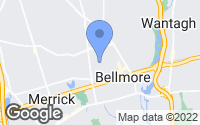 Map of Bellmore, NY