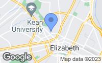 Map of Elizabeth, NJ