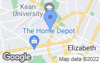 Map of Elizabeth, NJ