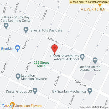 Laurelton Theater of Performing Arts & Visual Arts on Map (13730 226th St, Springfield Gardens, NY 11413) Map