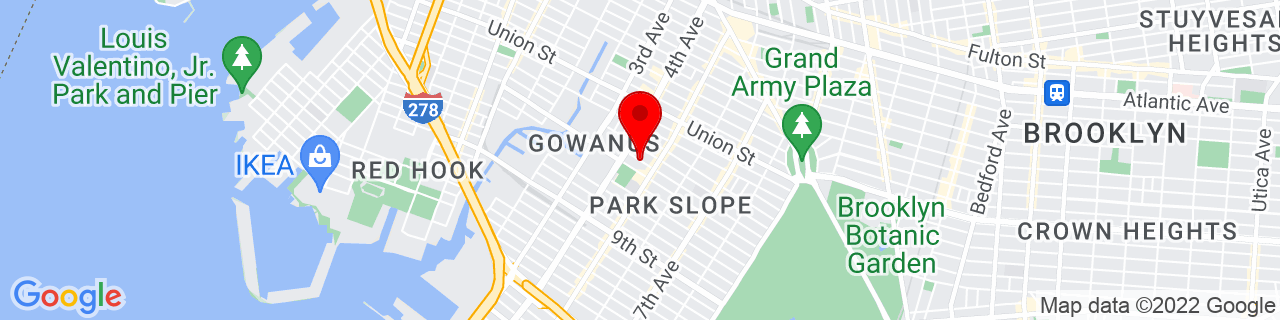 Google Map of 40.6739659, -73.983961