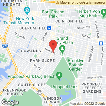 Map of Dr. Camille Cohen, Optometrist, and Associates - Park Slope at 95 Seventh Ave, Brooklyn, NY 11215