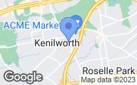 Map of Kenilworth, NJ