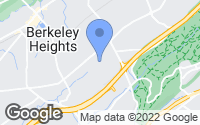 Map of Berkeley Heights, NJ