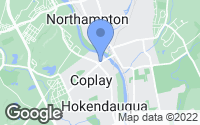 Map of Coplay, PA