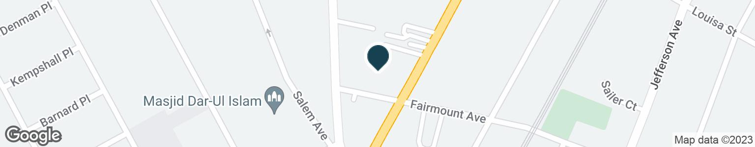 Google Map of600 NEWARK AVE