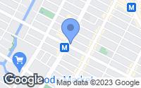 Map of Brooklyn, NY