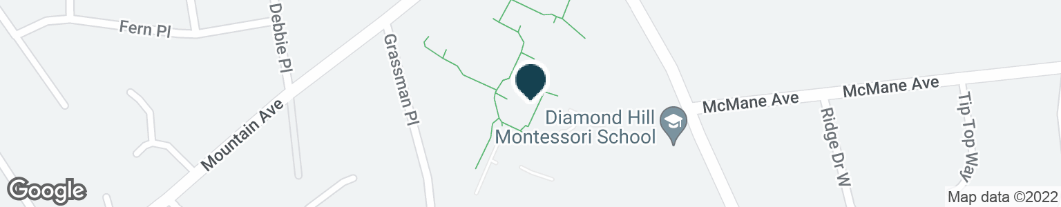 Google Map of1 DIAMOND HILL RD