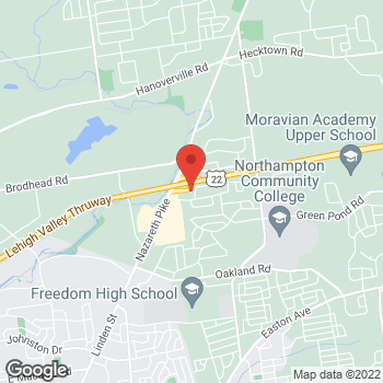 Map of Anthony Dippolito, MD at 201 Drift Court, Bethlehem, PA 18020