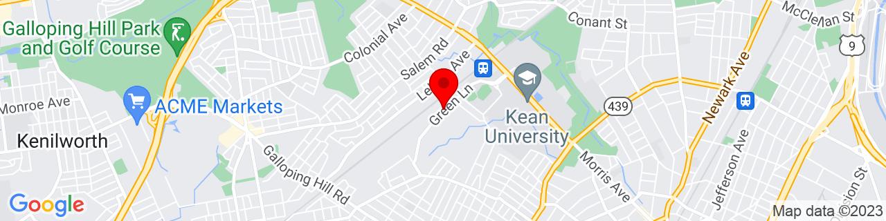 Google Map of 40.6793769, -74.2434865