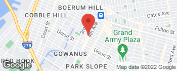 Map of 150 4th Ave in Brooklyn