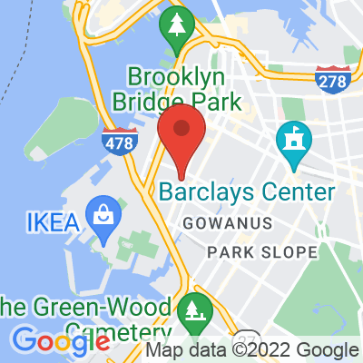 Map showing East One Coffee Roasters
