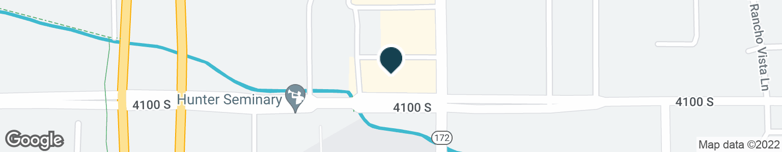 Google Map of5630 W 4100 S