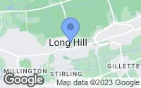 Map of Long Hill, NJ