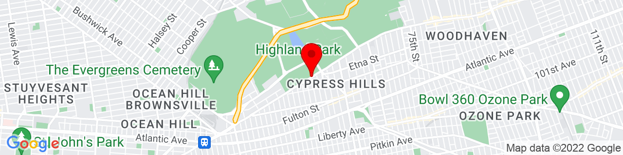 Google Map of 40.6845766, -73.883906